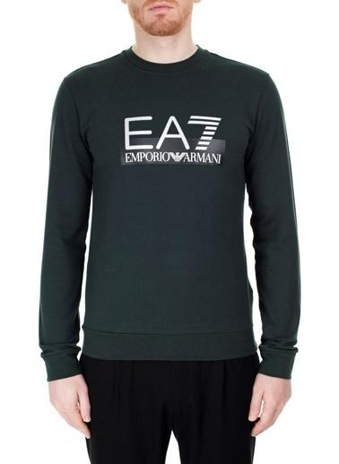 EA7 Emporio Armani  Sweat Erkek Sweat S 6Gpm60 Pj05Z 1860 Haki